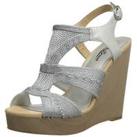 Lucky Women's Rosiee Platform Wedge Sandals - 10