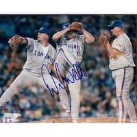 Signed Wells David Toronto Blue Jays 8x10 Photo autographed