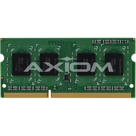 """Axion 0B47381-AX Axiom 8GB Low Voltage SoDIMM - 8 GB - DDR3L SDRAM - 1600 MHz DDR3-1600/PC3-12800 - 1.35 V - ECC - Unbuffered -"