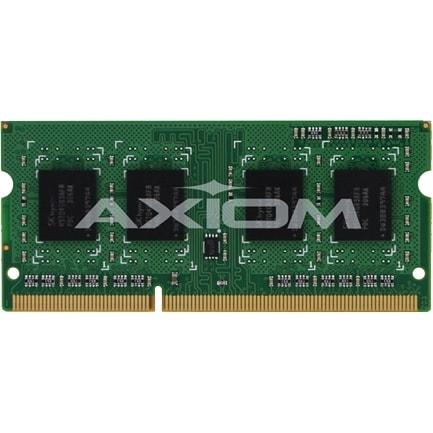 """Axion AXG53493694/1 Axiom 4GB Low Voltage SoDIMM TAA Compliant - 4 GB - DDR3 SDRAM - 1600 MHz DDR3-1600/PC3-12800 - 1.35 V -"