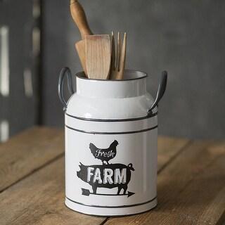 """""""Fresh Farm"""" Milk Can"""