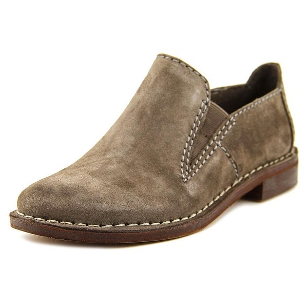 Clarks Narrative Cabaret City Women Round Toe Suede Gray Loafer
