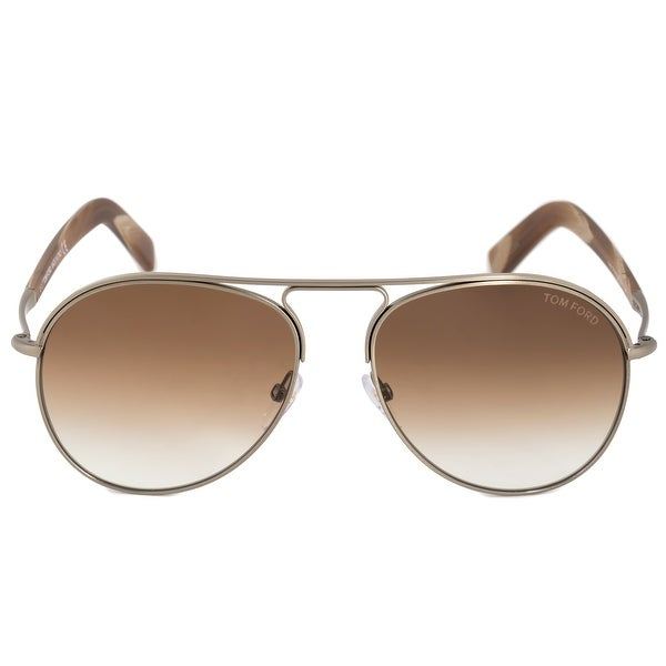 27c89b5e7fdf1 Shop Tom Ford Cody Pilot Sunglasses FT0448 33F 56 - Free Shipping ...