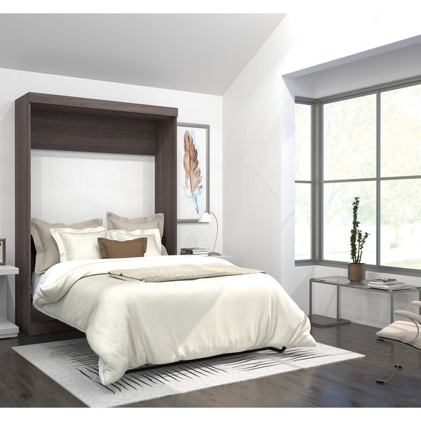 Pur by Bestar Full Wall Bed. Opens flyout.