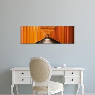 Easy Art Prints Panoramic Images's 'Fushimi Shrine Kyoto Japan' Premium Canvas Art
