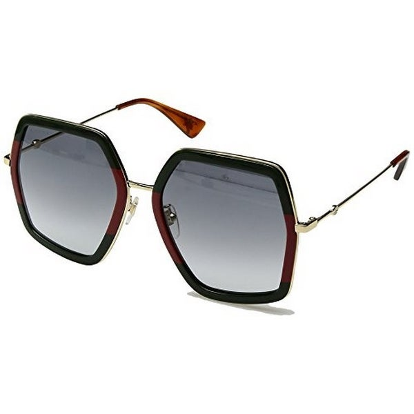 e62f44f4388 Shop Gucci Womens Square Sunglasses