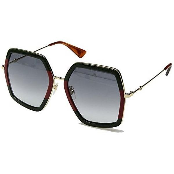 f6f48c7a0b3 Shop Gucci Womens Square Sunglasses