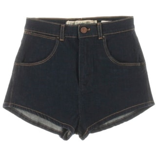 Zara Trafaluc Womens High Waist Casual Denim Shorts - 2
