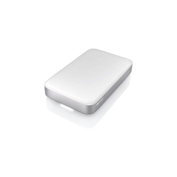 Buffalo Americas HD-PA1.0TU3 BUFFALO MiniStation Thunderbolt USB 3.0 1 TB Portable Hard Drive (HD-PA1.0TU3) - Pre-formatted for
