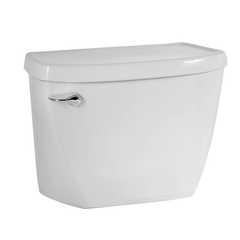 American Standard 4142.016 Cadet 1.6 GPF Toilet Tank Only with Left - White (White)