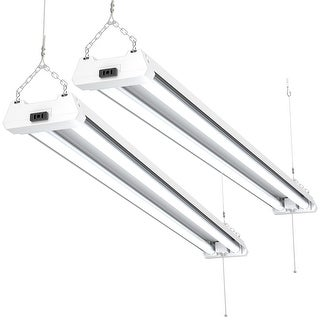 Sunco Lighting 4FT LED Shop Light 40W 5000K Daylight (Set of 2)