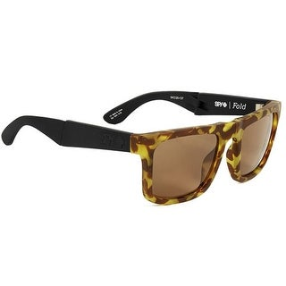 Spy Optic 648478747401 The Fold Sunglasses Black/1956 Frame Happy Bronze