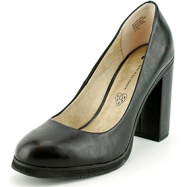 BC Footwear Turf Women Open Toe Synthetic Black Platform Heel
