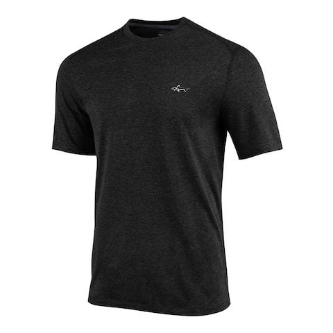 GREG NORMAN Mens Black Logo Graphic Casual Shirt S
