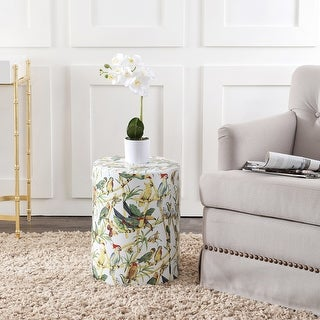 Link to Safavieh Forla Tropical Bird Ceramic Decorative Garden Stool Similar Items in Outdoor Decor