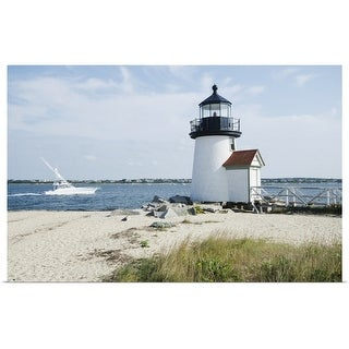 """Brant Point Lighthouse, Nantucket"" Poster Print"