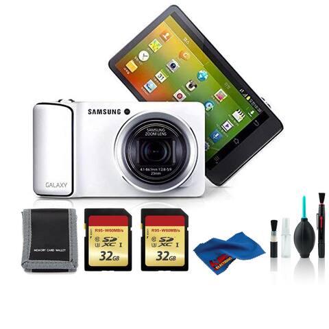 Samsung EK-KC120 GALAXY Digicam White with 2x32 GB Memory