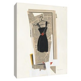 """PTM Images 9-154761  PTM Canvas Collection 10"""" x 8"""" - """"Fashion Pages IV"""" Giclee Dresses Art Print on Canvas"""