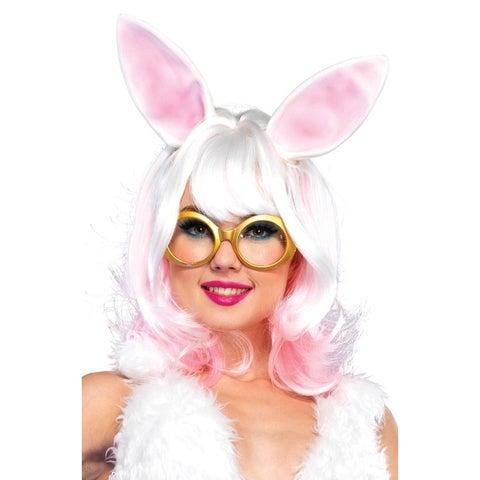 Leg Avenue Bunny Wig - White/Pink