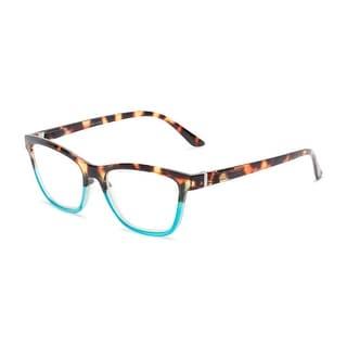 Link to Readers.com The Domino Blue Light Reader Cat Eye Reading Glasses Similar Items in Eyeglasses