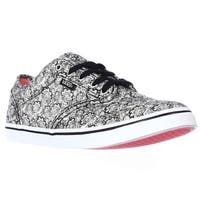 Vans Atwood Low Women's Skate Shoes, Henna Black