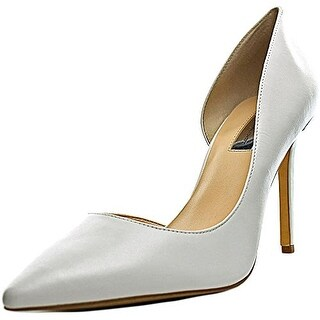 INC International Concepts Kenjay Women Pointed Toe Leather Heels