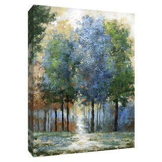 """PTM Images 9-148529  PTM Canvas Collection 10"""" x 8"""" - """"Afternoon Light"""" Giclee Forests Art Print on Canvas"""