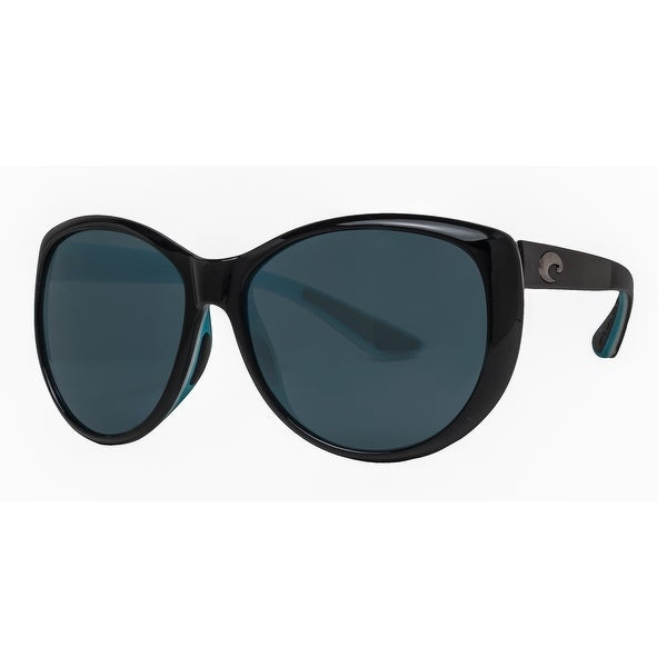 d3205dec7b Shop Costa Del Mar La Mar LM87OGP Black Aqua 580P Gray Women s ...