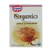 European Gourmet Bakery Organic Apple Cinnamon Muffin Mix - Apple Cinnamon - Case of 12 - 16 oz.