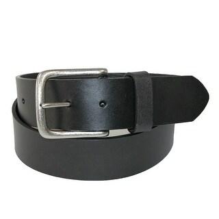 Tommy Hilfiger Men's Oil Tanned Leather 1.5 Inch Bridle Belt