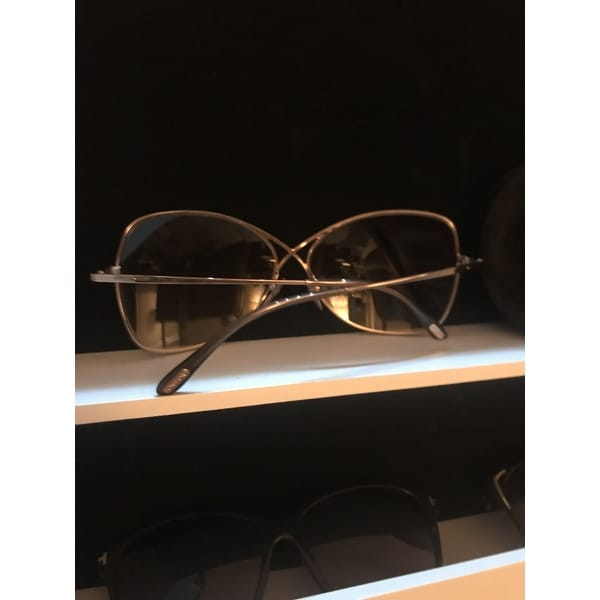 d5dc4d59af22e Shop Tom Ford TF250 Colette 28F Women s Rose Gold Brown Gradient Lens  Sunglasses - Free Shipping Today - Overstock - 18221862