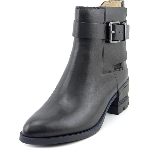 Carolinna Espinosa Conner Pointed Toe Leather Ankle Boot