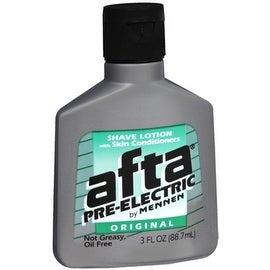 Afta Pre-Electric Shave Lotion Original 3 oz