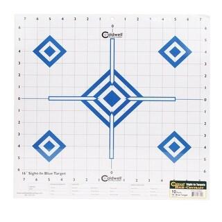 Caldwell 198604 caldwell 198604 sight in target 16 hi contrast blue 10pk