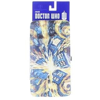 Doctor Who Hinge Wallet Van Gogh Exploding TARDIS - Multi