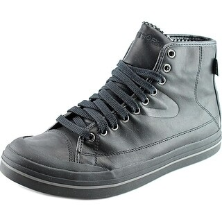 Tretorn Skymra Mid SL GTX Round Toe Leather Sneakers