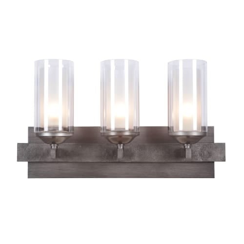 Jeremiah Lighting 39303 Mod 3 Light Bathroom Vanity Light - 21.63 Inches Wide