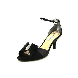 Nina Cyprian Open Toe Canvas Sandals