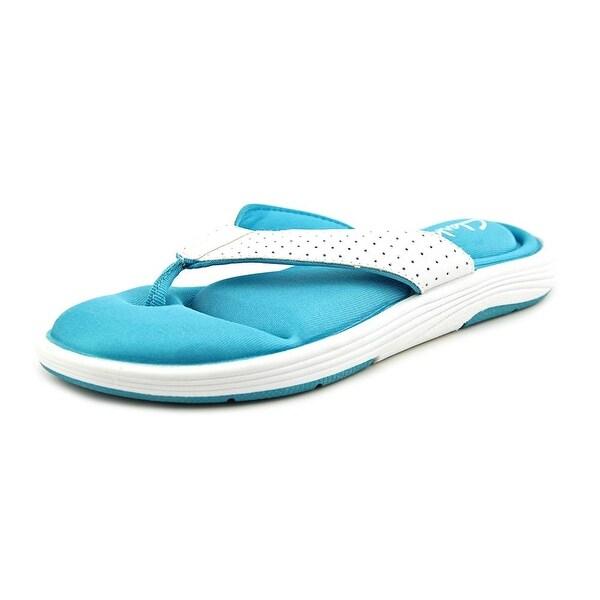 Clarks Olina Blossom   Open Toe Synthetic  Thong Sandal