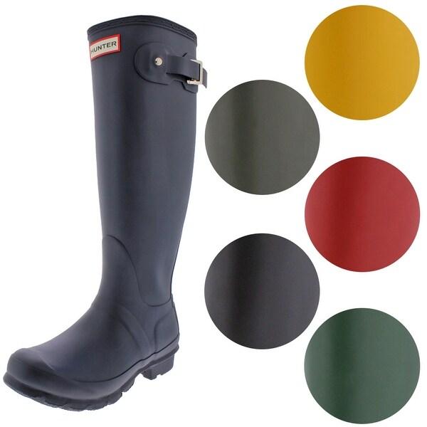 Hunter Women's Original Tall Rain Boots. Opens flyout.