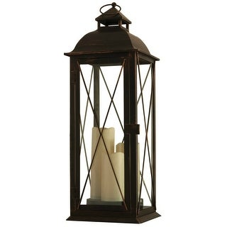 Smart Solar 80073 Salerno Triple LED Candle Lantern