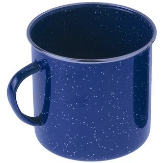 GSI Outdoors Enamelware Steel Cup - 12 oz. - Blue