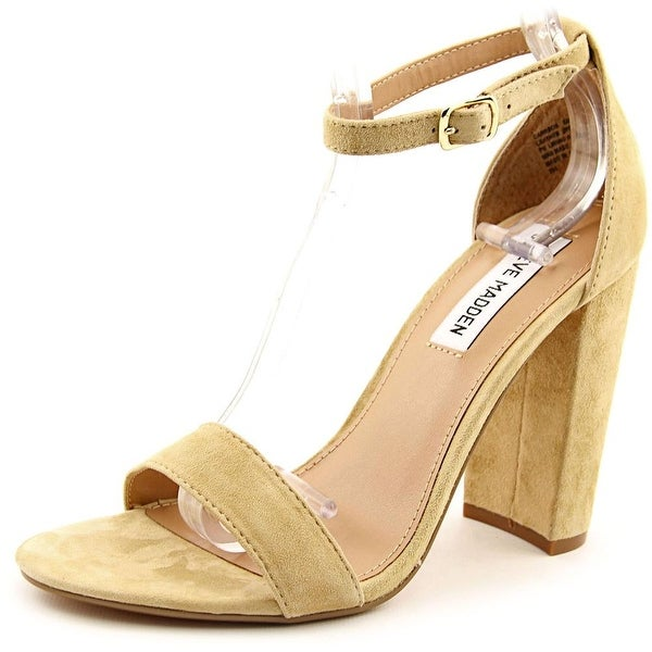 a2907e475b9 Shop Steve Madden Carrson Women Open Toe Suede Nude Sandals - Free ...