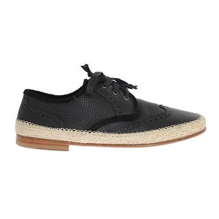 Dolce & Gabbana Blue Leather Casual Derby Shoes