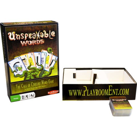 Unspeakable Words Board Game