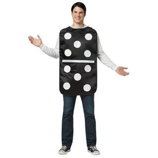 Adult Domino Halloween Costume - standard - one size