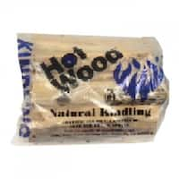 HotWood 100100 Firewood Hardwood Box with Kindling, 14.15 LItre