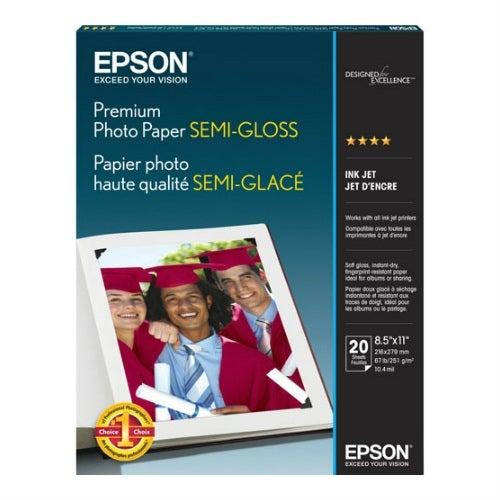 """""""Epson Premium Semi-Gloss Photo Paper Semi-gloss Photo Paper"""""""