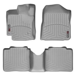 WeatherTech Toyota Venza 2009-2011 Grey Front & Rear Floor Mats FloorLiner 46183 1 2