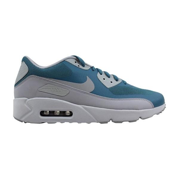 1b44ea28beb36 Nike Air Max 90 Ultra 2.0 Essential Smokey Blue/Wolf Grey 875695-001 Men&